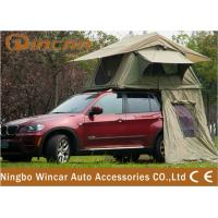 China 2 - 3 Person Car Roof Tent Camping 4WD 4 X 4 Rooftop Tents Canvas on sale