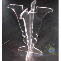 China CH (25) clear Acrylic hurricane lantern candle holder on sale
