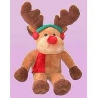 Quality Christmas Reindeer Soft Toy Plush Toy for sale
