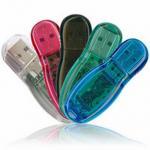 Quality Thumb Shape High Quality 1GB Plastic Usb Drives KC-076 High Speed Flash Memory for sale