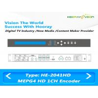 Best AVC / H.264 MPEG4 HD  Multi-Input Digital Video Encoder for IPTV OTT platform wholesale