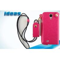 Buy cheap Rose Color Samsung Galaxy Leather Protection Cases Dustproof For Girls from wholesalers