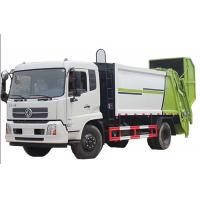 Quality 3250mm Hydraulic Garbage Compactor Dongfeng 4x2 5m3  Euro 4 Standard for sale