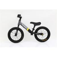 "Quality No-Pedal 14""   High Carbon Steel Children Blance Bike Child Walking Bike With Leather Saddle for sale"