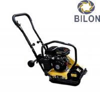 Quality 50KGS Vibratory Plate Compactor Mini Plate Compactor With Loncin 154F 2.8HP for sale