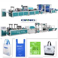 China CE certificaion non woven bag making machine vest bag making hot sale on sale