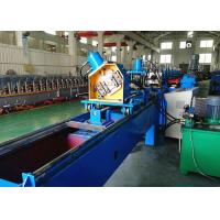 Quality C Section Bracing Roll Forming Machine, Rack Diagonal Bracing Roll Forming Line for sale