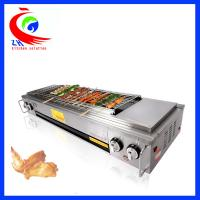 China Indoor Gas BBQ Grill Chinese Cooking Equipment Outdoor Gas Barbecue Oven on sale