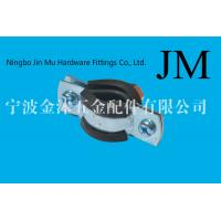 China M8 Nut 6 Inch / 1 Inch Pipe Clamp , Stainless Steel Clamps For Pipe Support on sale