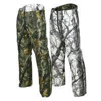Quality Outdoor Camouflage Hunting Suit Reversible Waterproof Camo Hunting Pants for sale