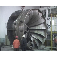 China Horizontal 145kw 400V Francis Hydro Turbine for sale