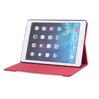 Best PU leather Case Lychee Pattern Ipad 6 /  iPad Air2 Protective Case Black / White / Red wholesale