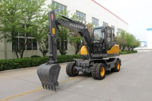 Quality High Quality HT-75 Diesel Engine Hydraulic Excavator With Trench Bucket Lonking For Farmland for sale