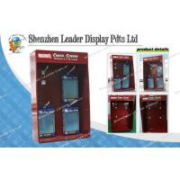 Quality 4C Printing Sidekick Display Stands With Hooks , POP Cardboard Display for sale
