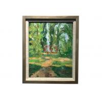 China Handpainted Abstract Landscape Oil Painting With Frames Stretched on sale