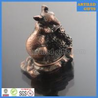 Best Chinese Zodiac antique animal 3D metal craft of Rat wholesale