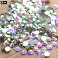Buy cheap Top China swaro crystal stone wholesale nails stones for design ss10 crystal ab from wholesalers
