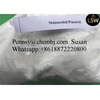 China Injectable Oral Anabolic Steroids  Stanozol for Bodybuilding Fat Buring White Powder 10418-03-8 on sale