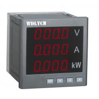 China Single Phase Current Digital Panel Meter , Multifunction Panel Meter 80*80mm on sale