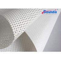 Quality 260g/sqm pvc mesh banner for digital printing materials Polyester fabric for lager formate for sale