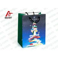 Best CMYK Printing Holiday Christmas Paper Bags For Candy Shop OEM / ODM Avaliable wholesale