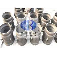 Buy cheap BD SiSiC Reaction Bonded Silicon Carbide Ceramic Burner Immersion Tube from wholesalers