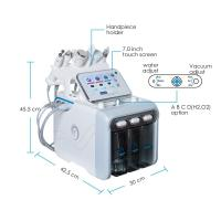 Quality Pro Facial Dermabrasion Diamond High Frequency Crystals Peeling Hydro Crystal Microdermabrasion Machine for sale