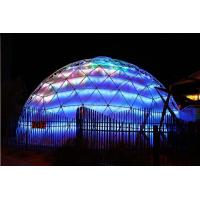 Quality Lightweight Large Geodesic Dome Tent , Festival Geo Dome Camping For Big Capacity for sale