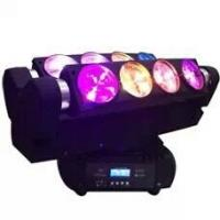 Quality 5600K Sound Activate LED 8Eyes 10W RGBW Cree Bulb Moving Head Beam Light for sale