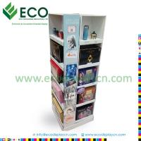 Buy cheap FSDU Corner Cardboard Perfume Display Stands from wholesalers