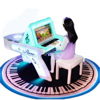 Quality Children Coin Operated Karaoke Machine Piano Arcade Game For Playground for sale