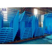 China Customized Steel Stacking Racks Low Carbon Steel Collapsible ISO Certificated on sale