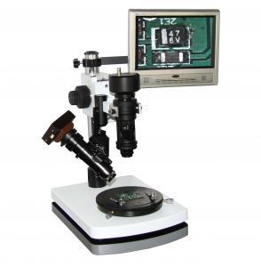 Quality Double Lens 100x 200X 300X USB digital camera Zoom 3D Digital Microscopes / Microscope for sale