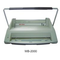 China 12 - Pins Handle Electric Binding Machine For Velo Binding Strip WB-2000 on sale