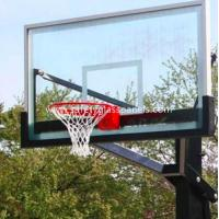 Quality Ultra Clear 15mm Outdoor Tempered Glass Composite Basketball Backboard for sale