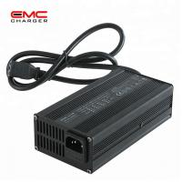 Quality 12V 10A Aluminium Alloy with Fan lithium battery charger for E-scooter CE for sale