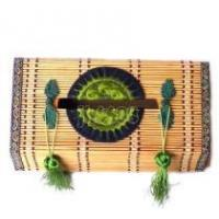 China bamboo woven tissue box, handicrafts,folk crafts,folk arts on sale