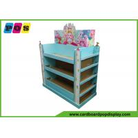 China POP Retail End Cap Cardboard Pallet Display With Three Sided Shelves PA041 on sale