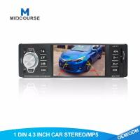 Quality Commercial 1 Din Bluetooth Car Stereo 4.1 Inch With USB / AUX / SD for sale