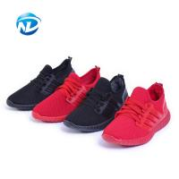 Quality Light Weight Sports Shoes Lace-up Mesh Fabric Shoes For Ladies for sale