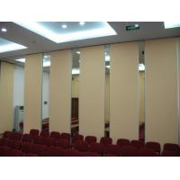 Buy cheap Good Sound Insulation Office Sliding Partition Walls , Aluminium Frame Movable Room Dividers from wholesalers