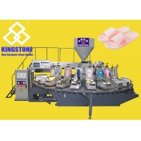 China Rotary Plastic Footwear Making Machine For Slipper Making for sale