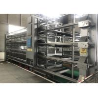 Quality Q235 Poultry Farming H Type 4 Tier Layer Chicken Cage for sale