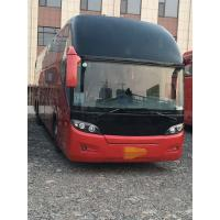 Quality 55 Seat Higer Red Travel Used Passenger Bus KLQ6147 Diesel Left Hand Steering 2013 Year for sale