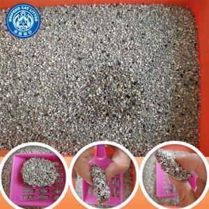 China Hot sale Irregular 100% sodium bentonite cat litter best kitty litter on sale