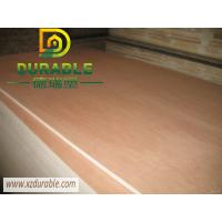China Cheap Price Solid 3MM bb /cc grade E2 glue  red okoume plywood For Furniture and Yatch use on sale