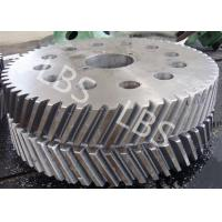 Quality Double Helical Spur Gear with Large Modulus / Hard Tooth Flank Gear for sale