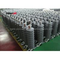 Quality 46KV Horizontal Composite Line Post Insulator With Clamp Top And Gain Base for sale