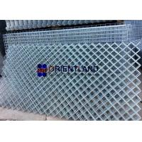 Quality Rhombus Opening Hot Dipped Galvanized Welded Wire Mesh , Stainless Steel Wire Mesh Panels for sale