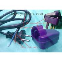 China 2 lines European Power Cord on sale